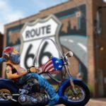 Biker Route 66 Personenschadenrcht USA